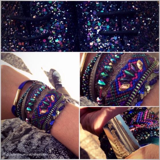 Bracelet Scarabée de Lyly...